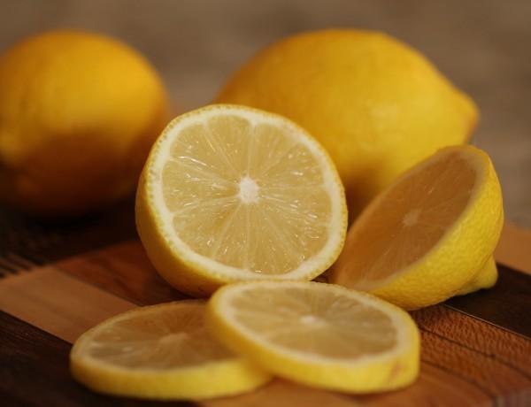 Natural wood polish lemons