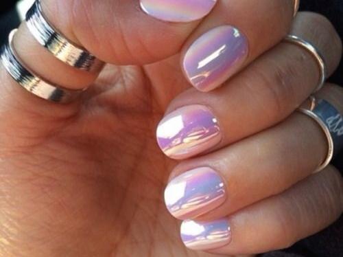metallic nails nail trends